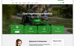 006 Best Lawn Care Website Template Sample