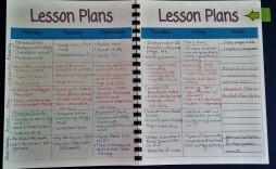 006 Best Lesson Plan Book Template Concept  Pdf Free Teacher