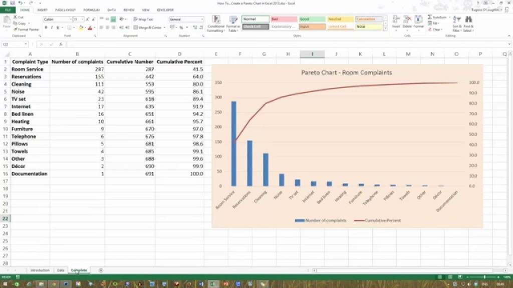 006 Best Pareto Chart Excel Template Photo  2016 Download Microsoft Control MLarge
