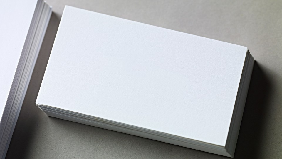 006 Best Plain Busines Card Template Concept  White Free Download Blank Printable Word 2010960