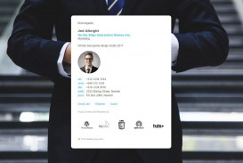 006 Best Professional Email Signature Template High Resolution  Busines Download