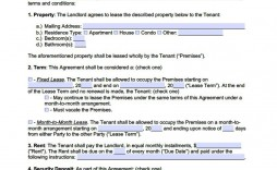 006 Best Renter Lease Agreement Template High Resolution  Apartment Form Early Termination Of By Tenant South Africa Free