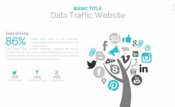 006 Best Social Media Ppt Template Free Picture  Download Report Powerpoint