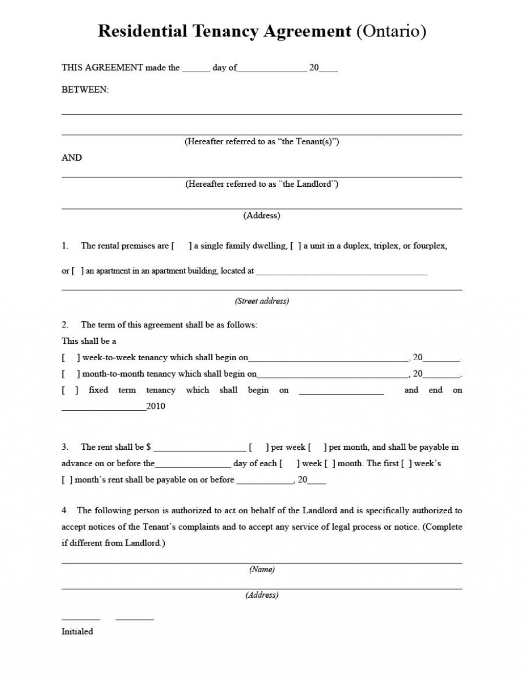 006 Best Tenancy Agreement Template Word Free Highest Quality  Uk 2020 Rental Doc LeaseLarge