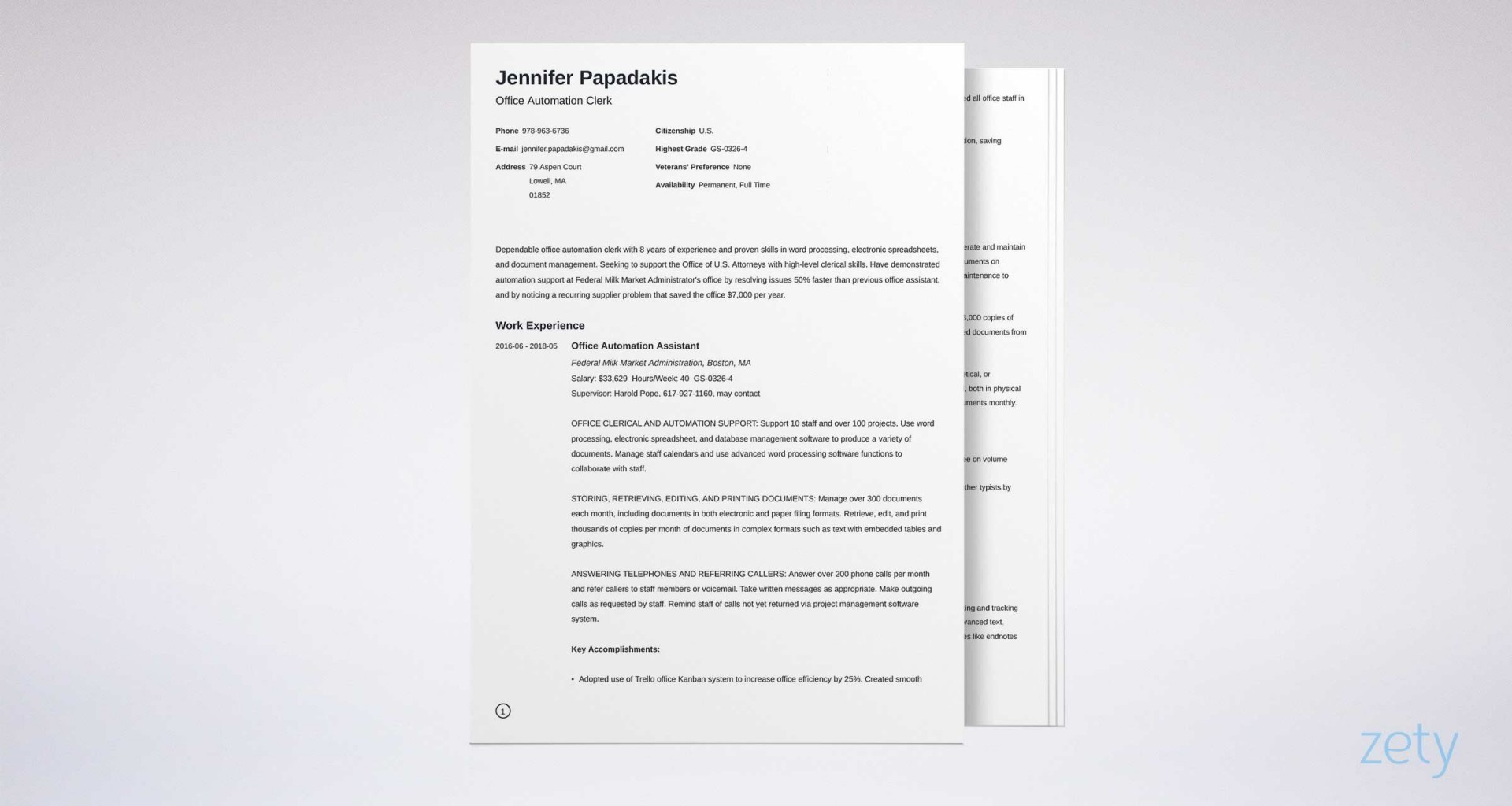 006 Best Usa Job Resume Template High Def  Builder Usajob Federal1920