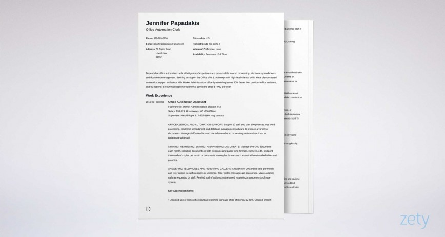 006 Best Usa Job Resume Template High Def  Builder Usajob Federal