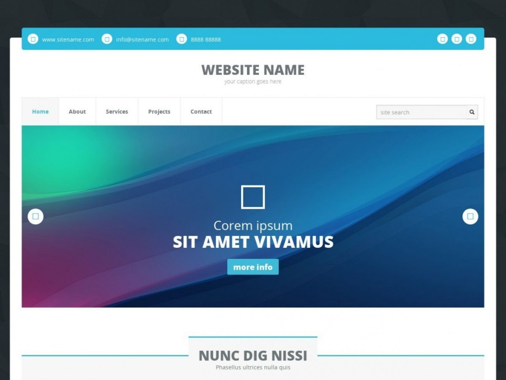 006 Best Website Template Html Cs Free Download Photo  Registration Page With Javascript Jquery Responsive Student FormLarge