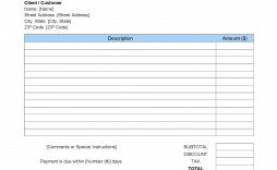 006 Best Work Invoice Template Word Concept  Hour