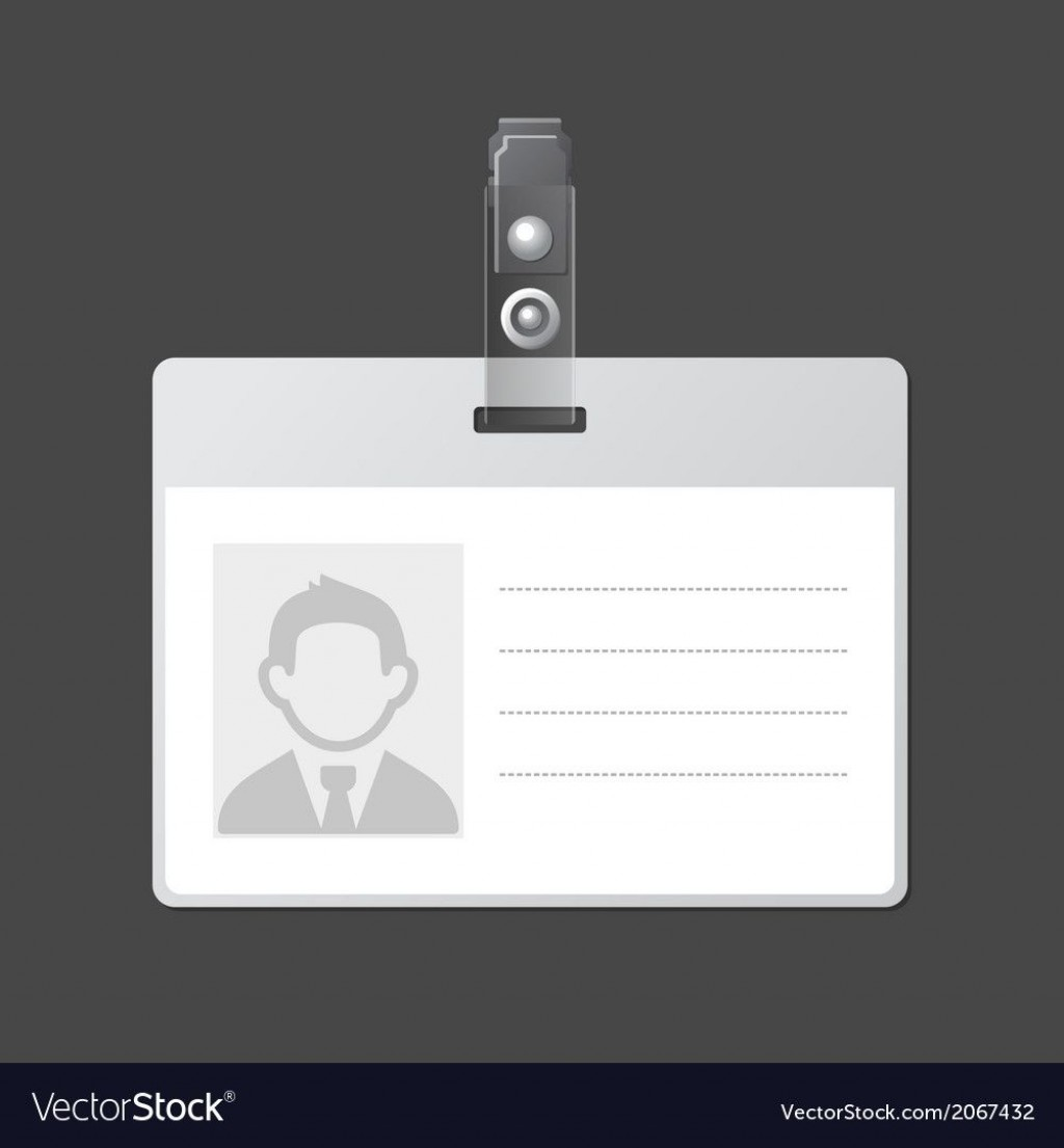 006 Breathtaking Blank Id Card Template Idea  Design Free Download EditableLarge