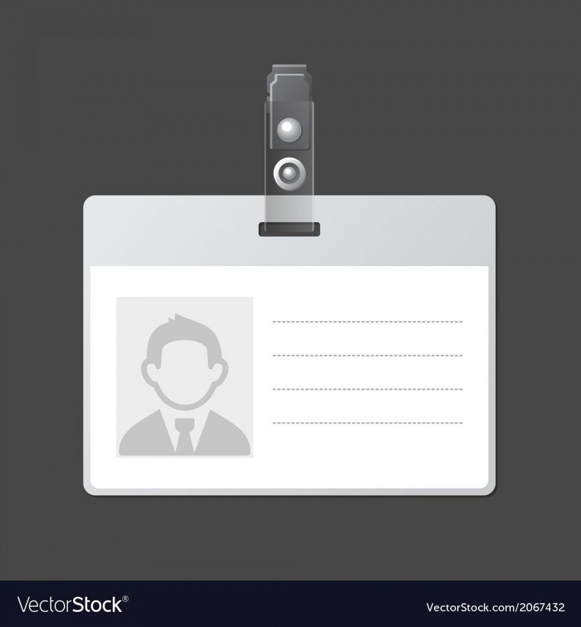 006 Breathtaking Blank Id Card Template Idea  Design Free Download Editable1920
