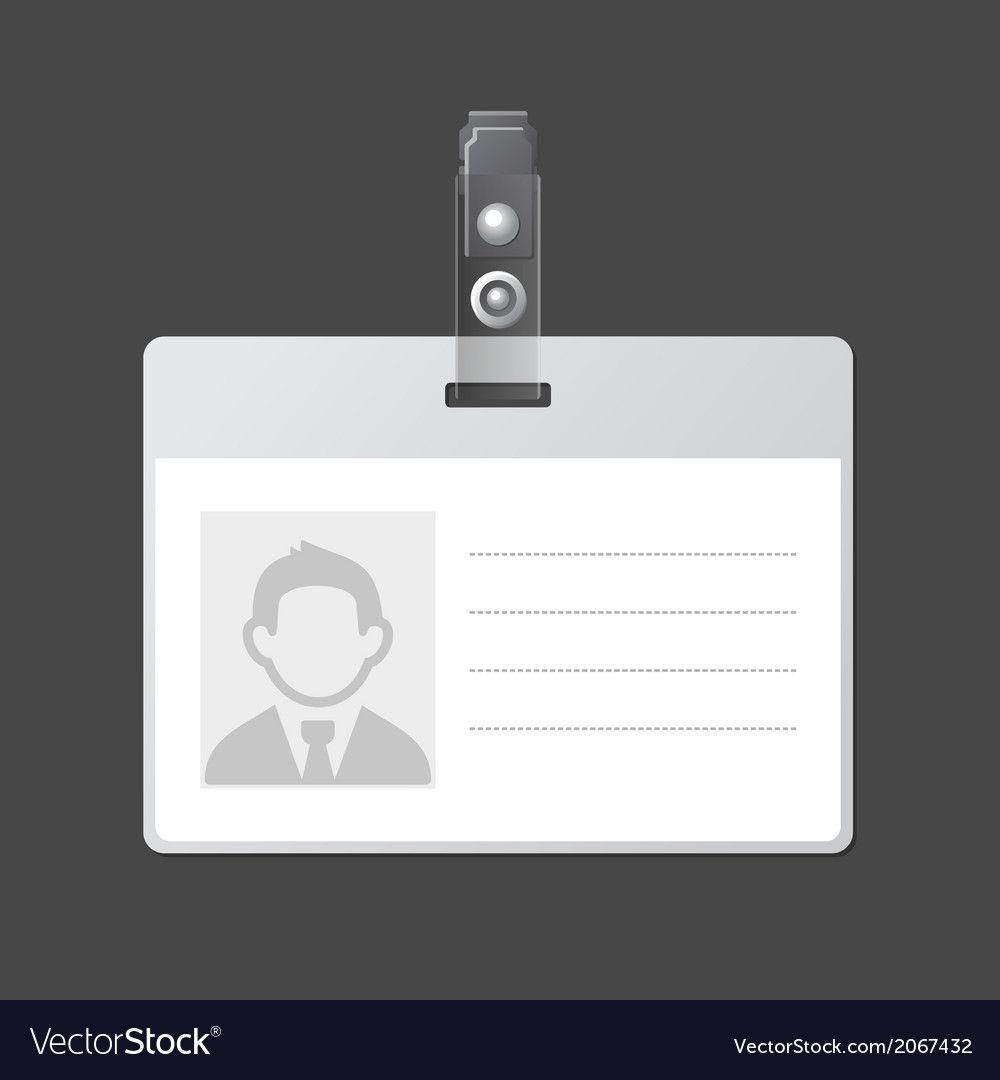 006 Breathtaking Blank Id Card Template Idea  Design Free Download EditableFull