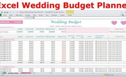 006 Breathtaking Budget Tracker Excel Template Picture  Wedding Personal Expense Free Project