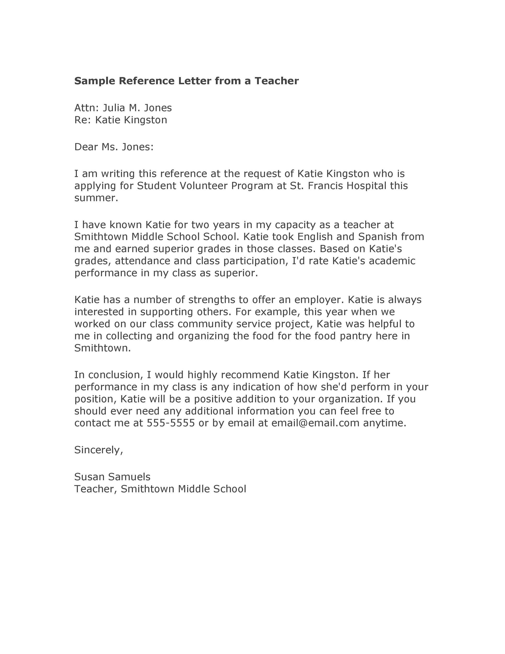 006 Breathtaking College Letter Of Recommendation Template Image  Writing Scholarship From EmployerFull