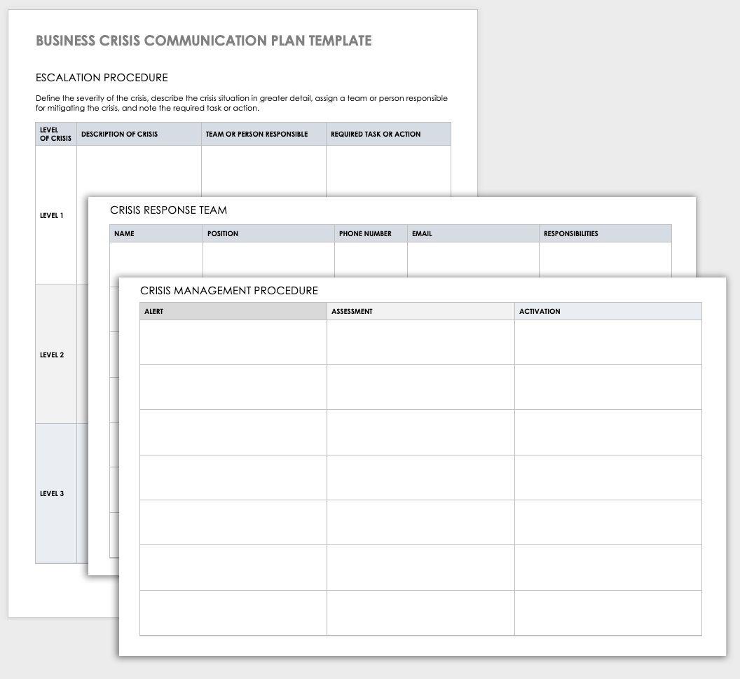 006 Breathtaking Crisi Management Plan Template High Definition  Example Uk AustraliaFull