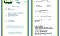 006 Breathtaking Free Event Program Template High Resolution  Schedule Psd Word
