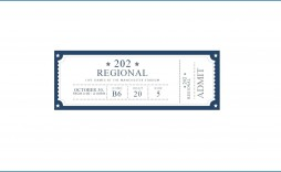 006 Breathtaking Free Event Ticket Template Printable Highest Quality