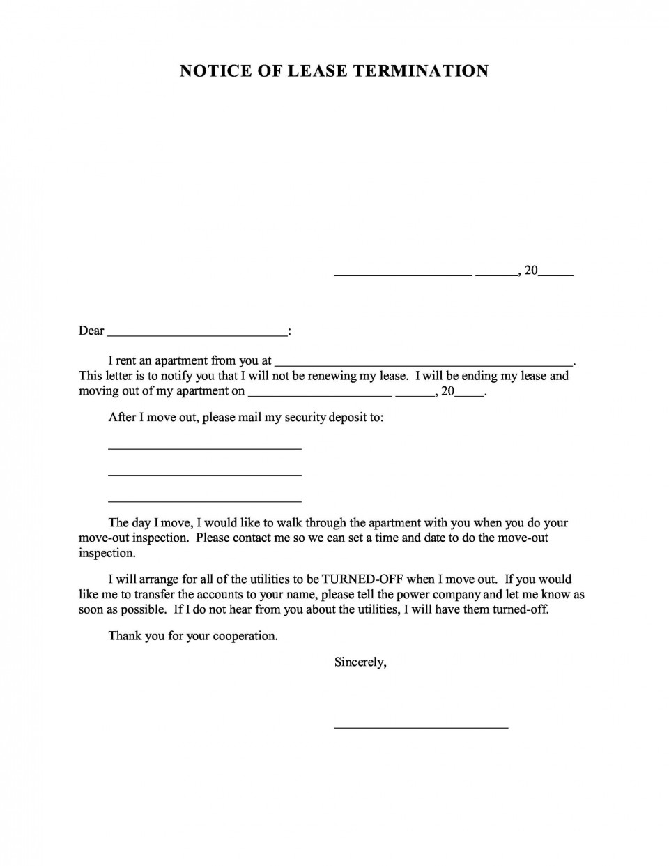 006 Breathtaking Free Eviction Notice Template Inspiration  Printable Texa Pdf960