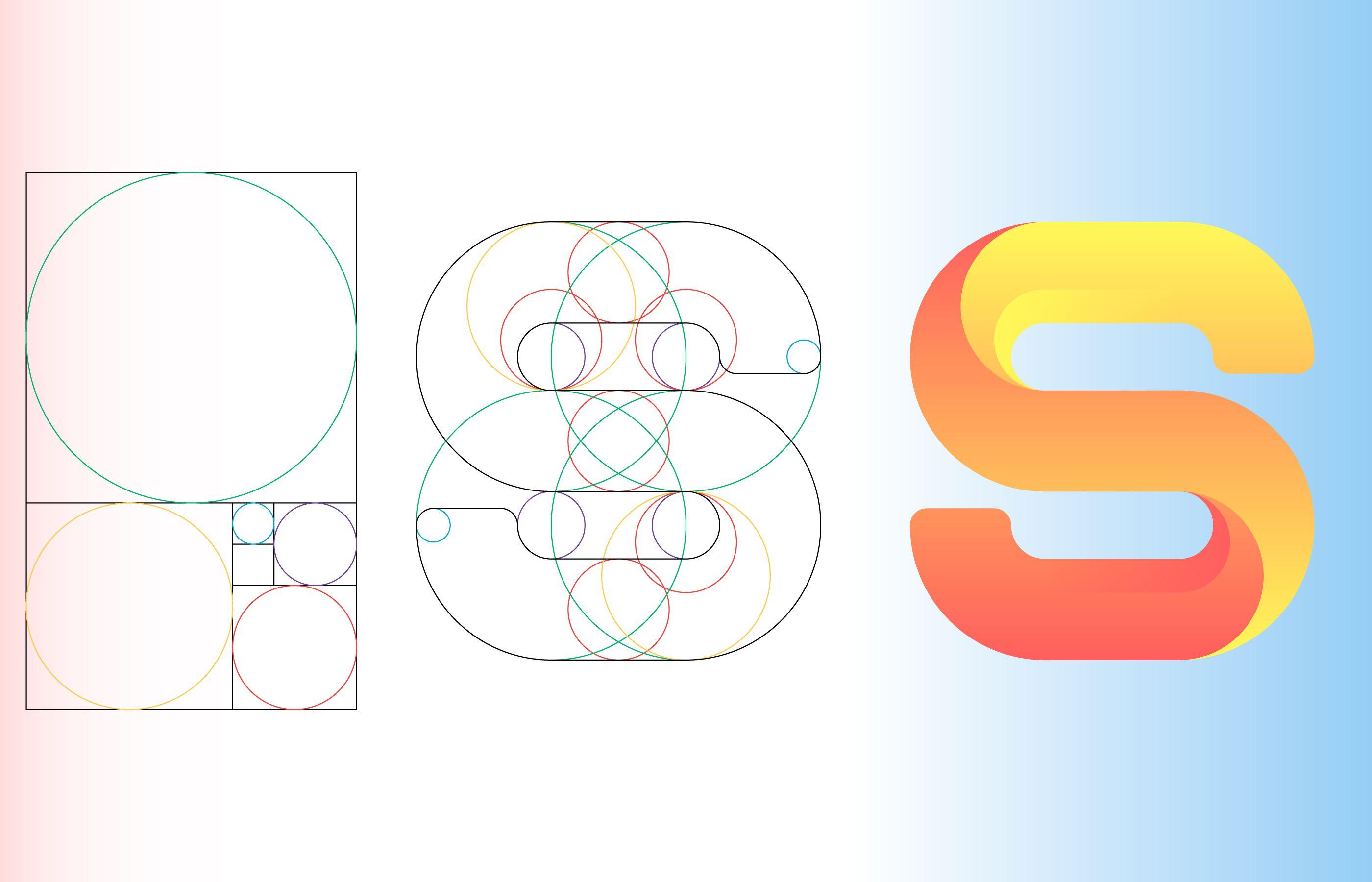 golden ratio design template  addictionary