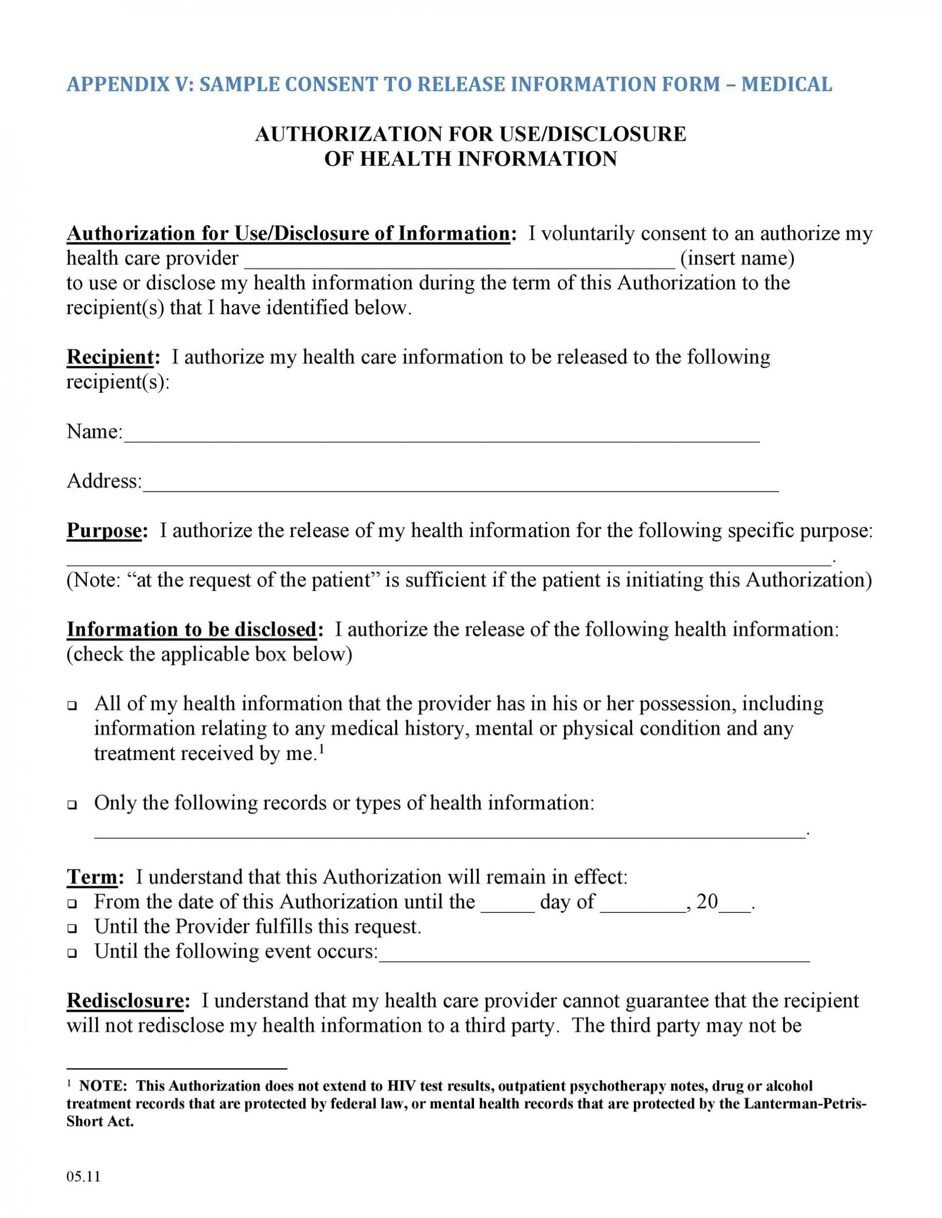 006 Breathtaking Medical Record Release Form Template Photo  Request Free Personal1920