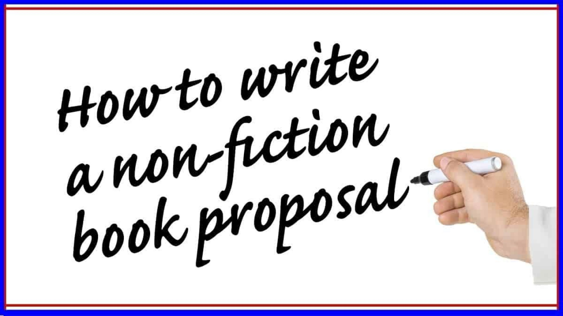 006 Breathtaking Nonfiction Book Proposal Template Example 1920