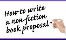 006 Breathtaking Nonfiction Book Proposal Template Example