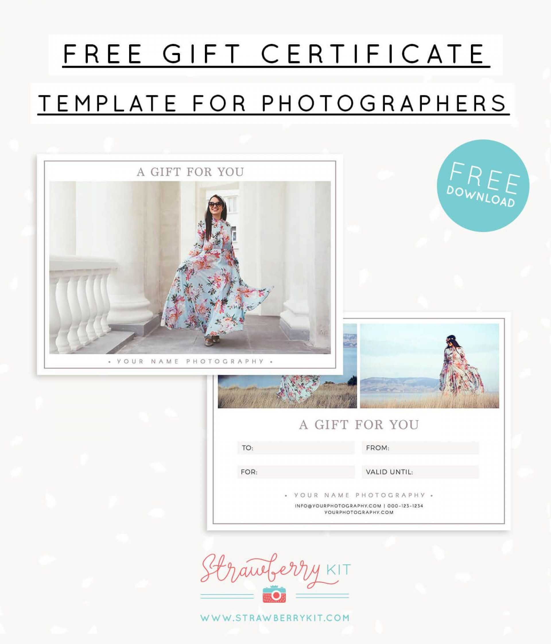 006 Breathtaking Photography Gift Certificate Template Photoshop Free Example 1920
