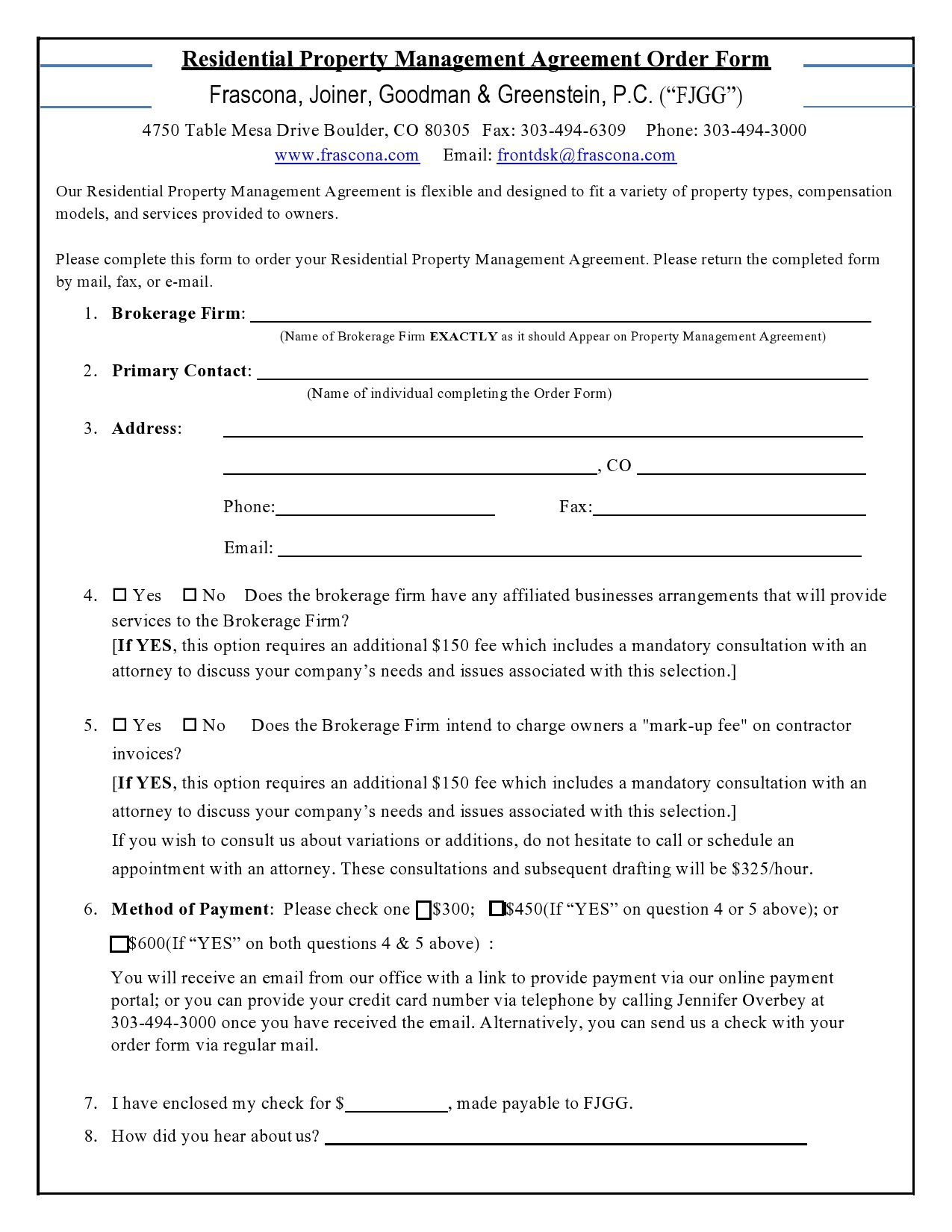 006 Breathtaking Property Management Agreement Template Ontario Inspiration  ContractFull