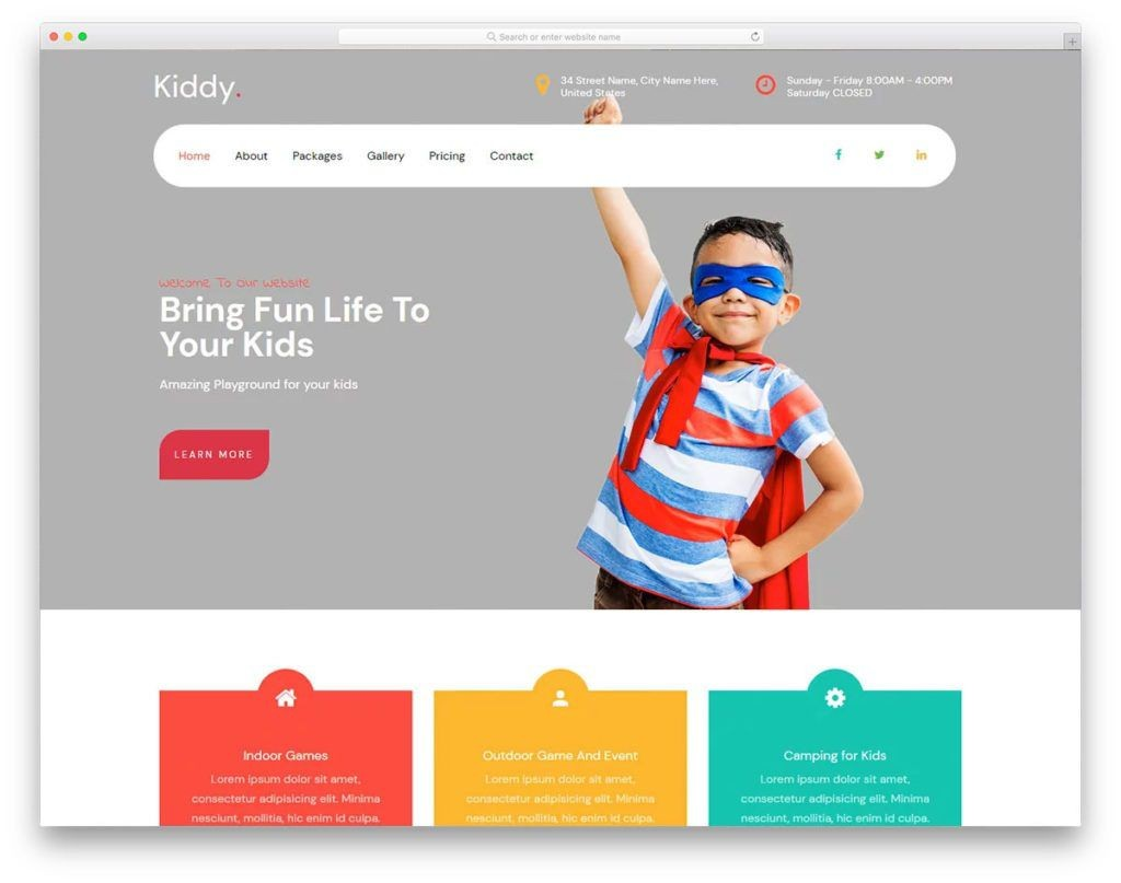 006 Breathtaking School Website Html Template Free Download Picture  Responsive With Cs JqueryLarge