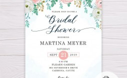 006 Breathtaking Wedding Shower Invitation Template Highest Quality  Templates Bridal Pinterest Microsoft Word Free For