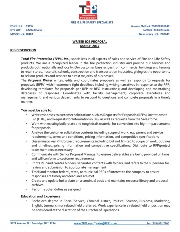 006 Breathtaking Writing A Job Proposal Template Sample Example 360