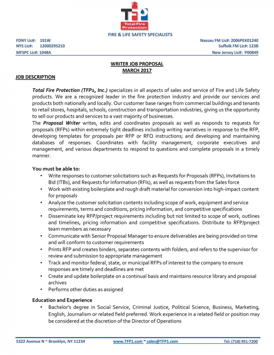 006 Breathtaking Writing A Job Proposal Template Sample Example 960