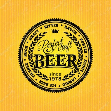 006 Dreaded Beer Label Design Template Image  Free360