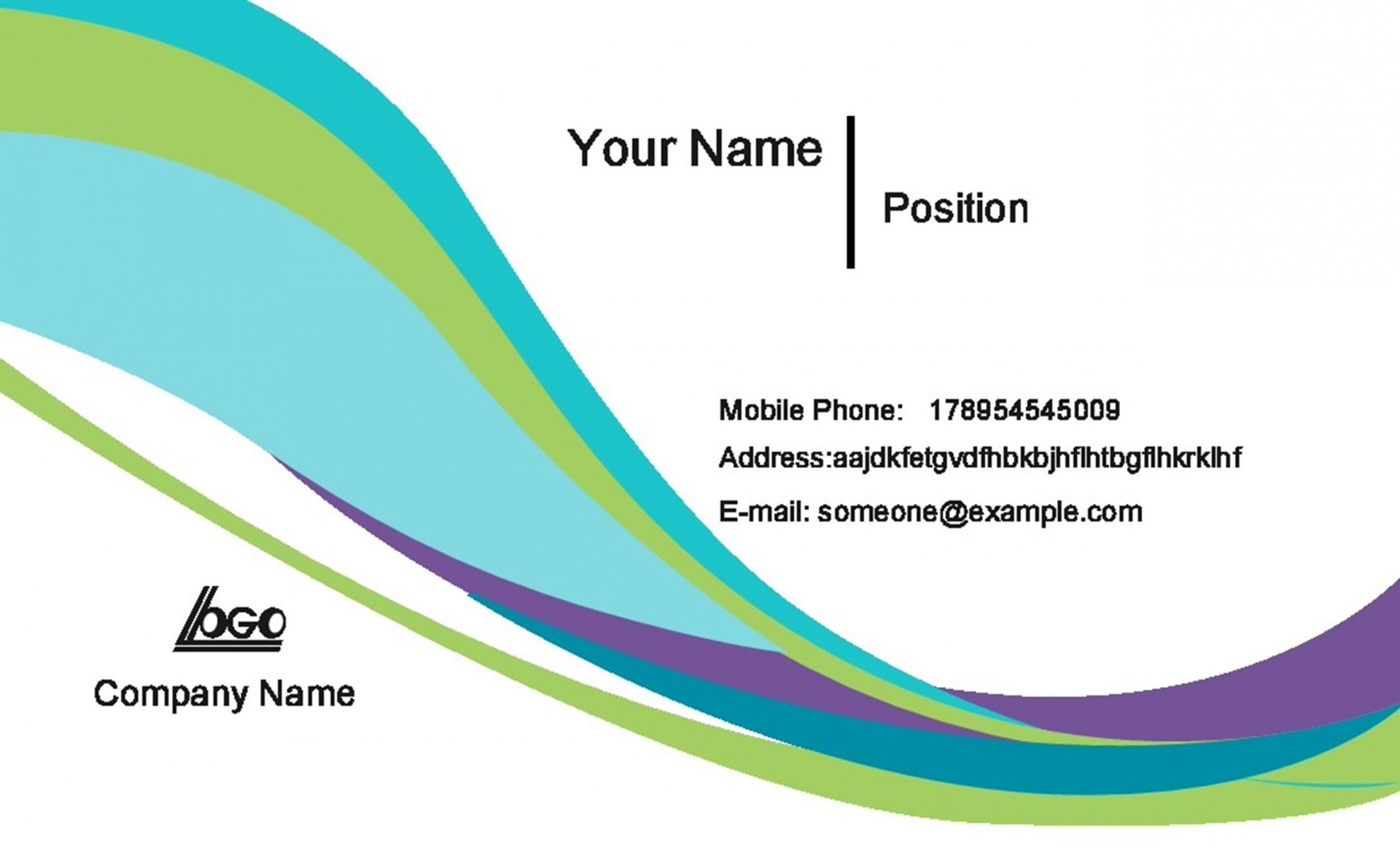 006 Dreaded Busines Card Template Microsoft Word Idea  Avery 8 Per Page How To Make A Layout On1920