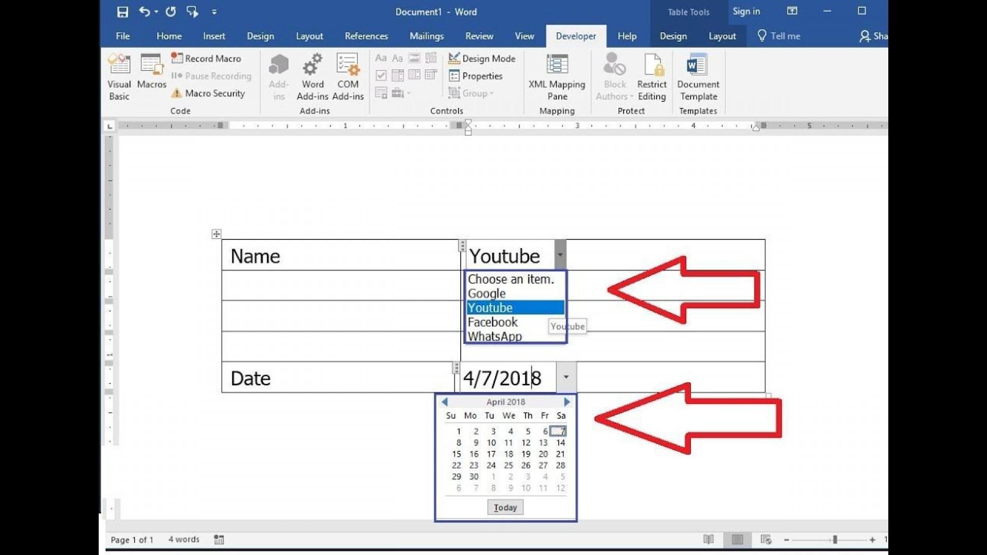 006 Dreaded Calendar Template For Word 2010 Highest Quality  2019 Microsoft1920