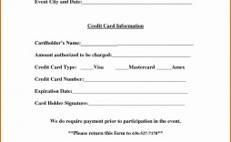 006 Dreaded Credit Card Template Word High Def  Authorization Hotel Form Slip