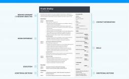 006 Dreaded Free Chronological Resume Template Idea  Word Microsoft Modern