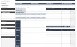 006 Dreaded Free Estimate Template Word Sample  Microsoft Contractor