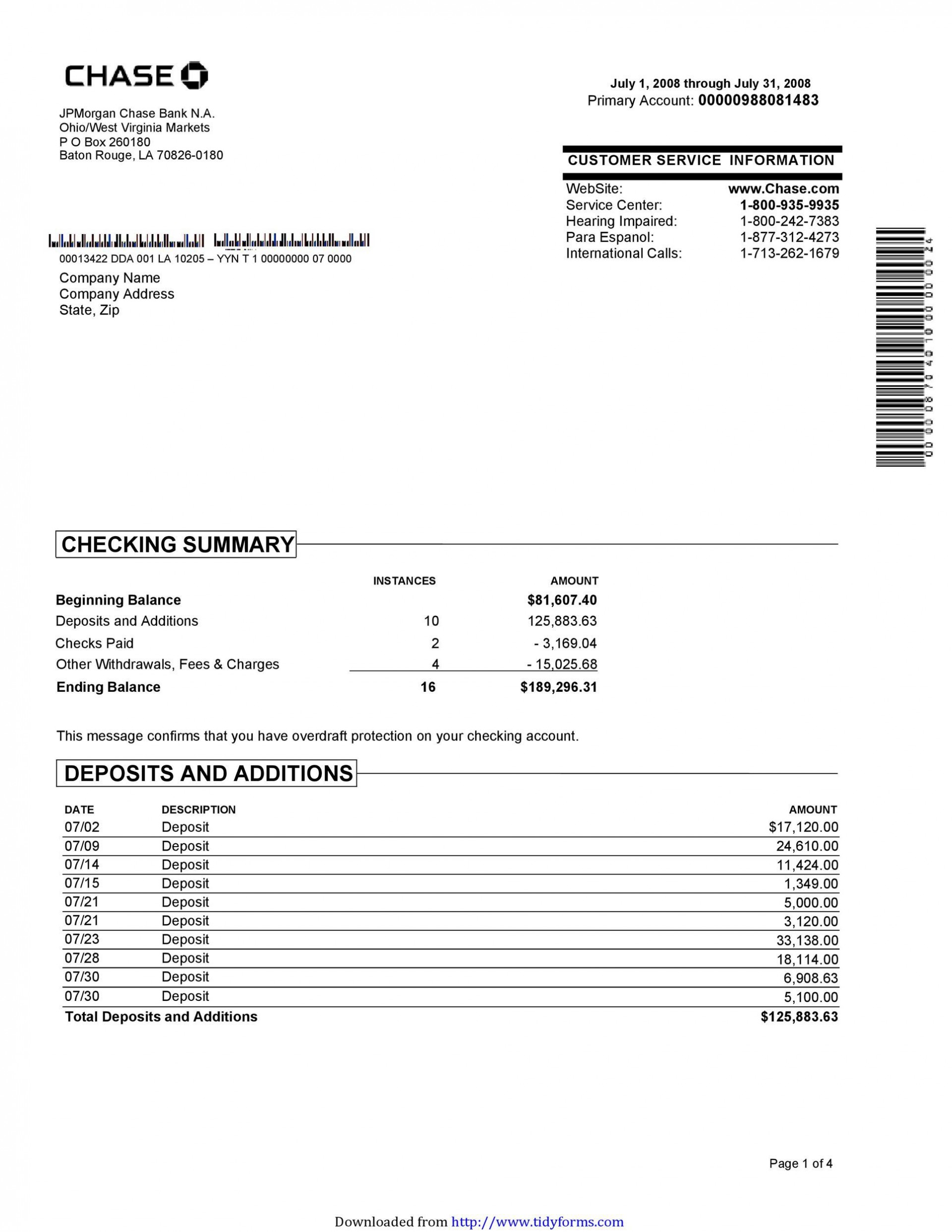 006 Excellent Bank Statement Excel Format Free Download Design  Of Baroda Stock In India1920