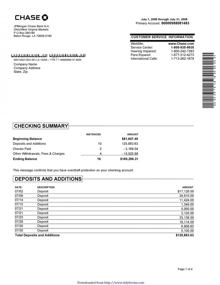006 Excellent Bank Statement Excel Format Free Download Design  Of Baroda Stock In India728