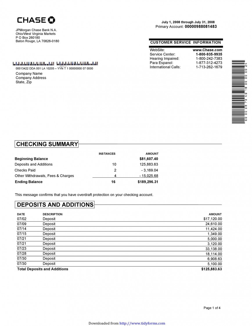 006 Excellent Bank Statement Excel Format Free Download Design  Of Baroda Stock In India868