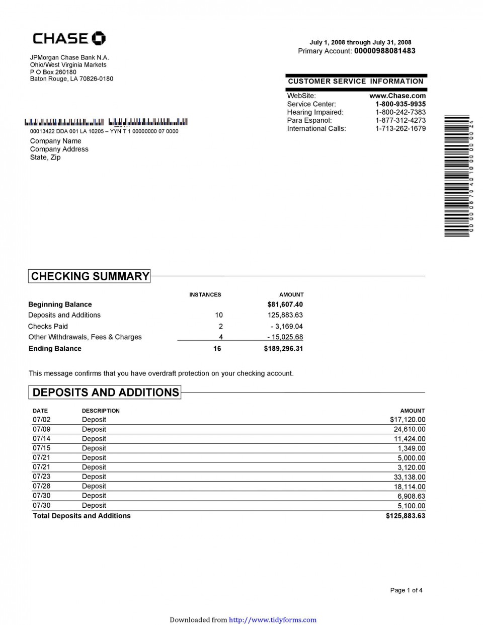 006 Excellent Bank Statement Excel Format Free Download Design  Of Baroda Stock In India960