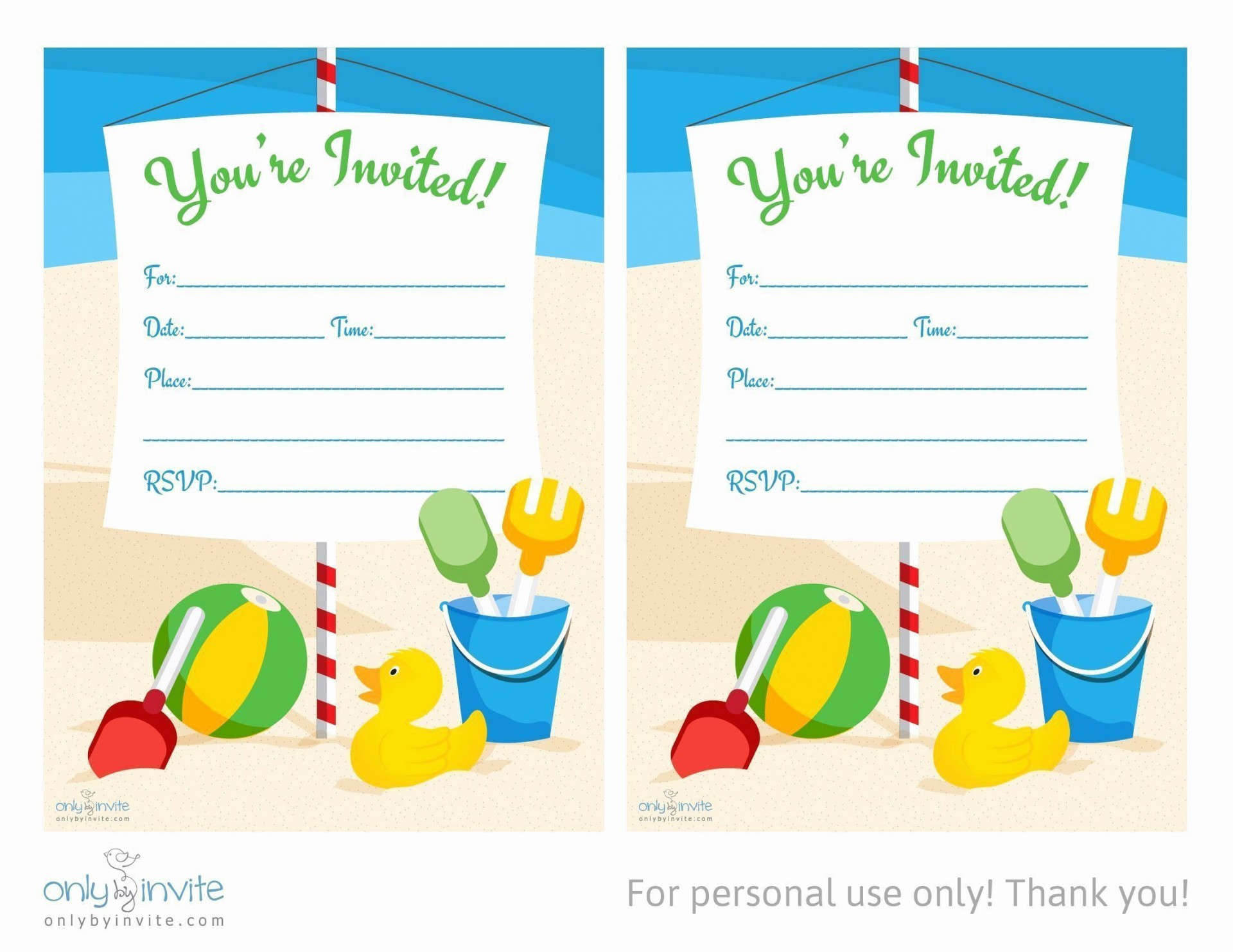 006 Excellent Birthday Invitation Template Word 2020 Concept 1920
