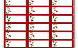 006 Excellent Christma Addres Label Template Photo  Free Download Shipping Card