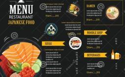 006 Excellent Food Menu Card Template Free Download Design