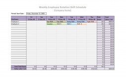 006 Excellent Free 12 Hour Rotating Shift Schedule Template Concept