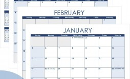 006 Excellent Free Calendar Template Excel Picture  Monthly 2020 Perpetual 2019