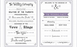 006 Excellent Free Downloadable Wedding Program Template High Definition  Templates That Can Be Printed Printable Fall Reception