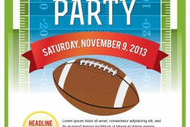 006 Excellent Free Tailgate Party Flyer Template Download Photo