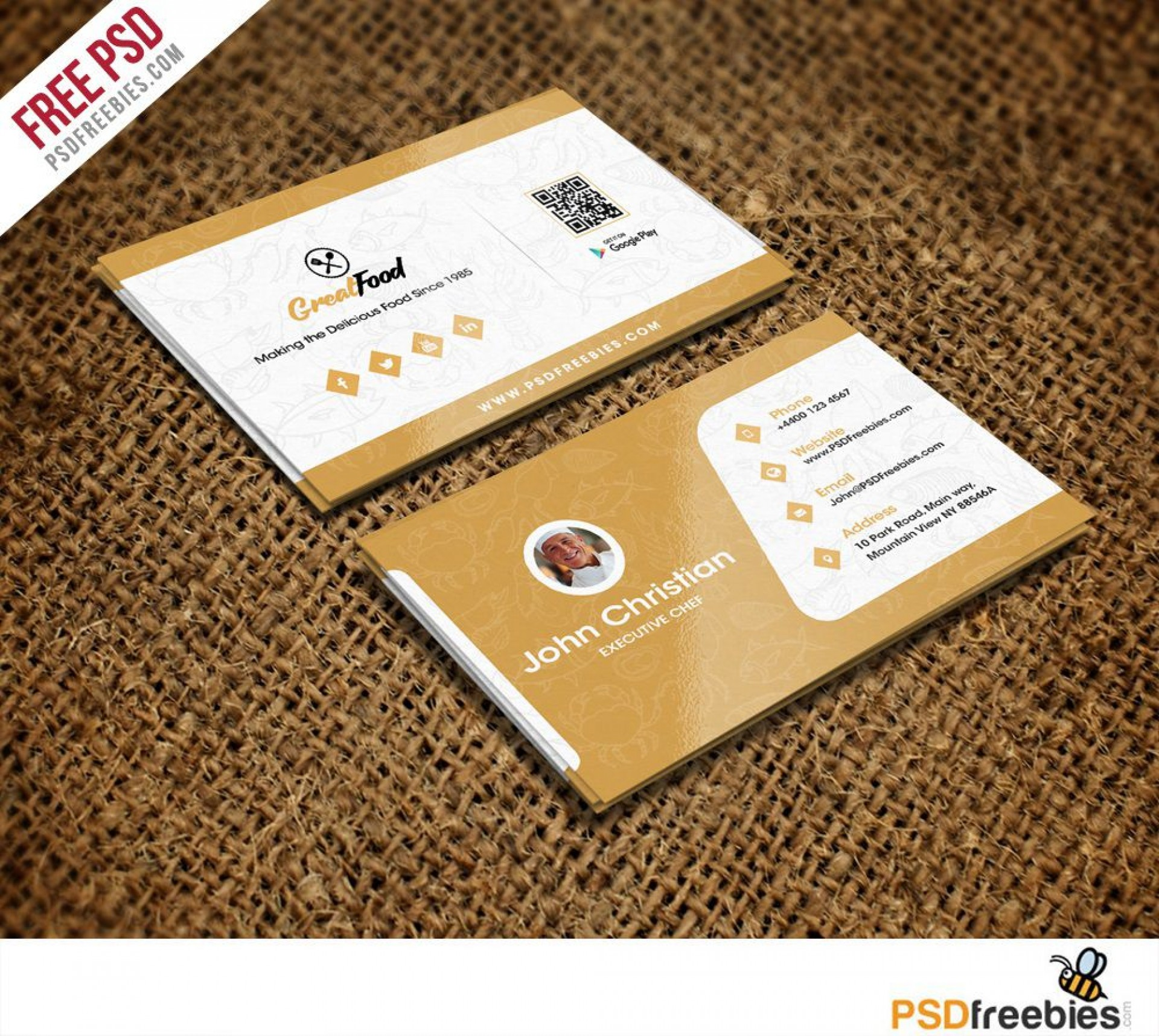 006 Excellent Name Card Template Free Download Picture  Table Ai Wedding1920