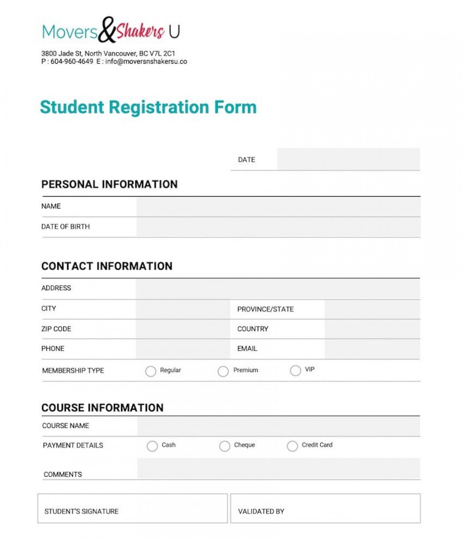 006 Excellent New Customer Form Template Word Picture  Registration Account Feedback1920